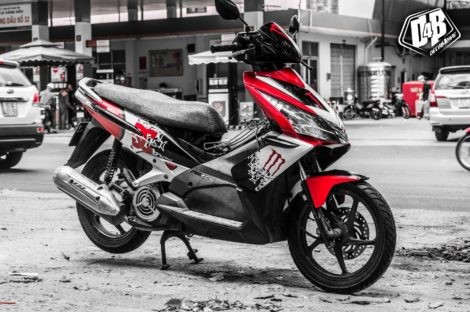 air blade 2010 red monster 1