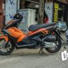 air blade 2014 phối màu cam đen 3