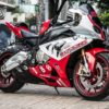 bmw s1000rr red and white 1