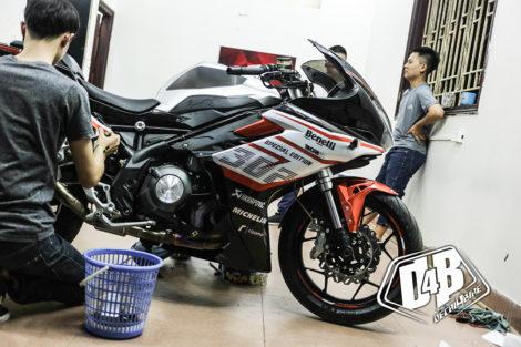 benelli 302 racing 15