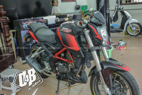 benelli bn 175 red racing 1