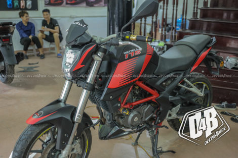 benelli bn 175 red racing 4