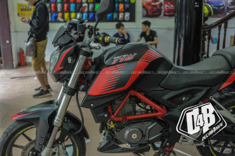 benelli bn 175 red racing 5