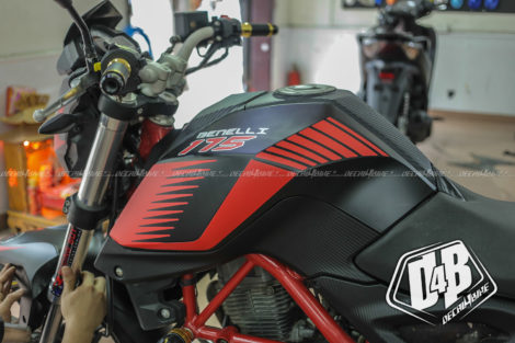 benelli bn 175 red racing 6