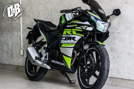 cbr 150 2014 green speed 4