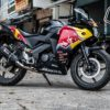 cbr 150 2014 redbull black 1