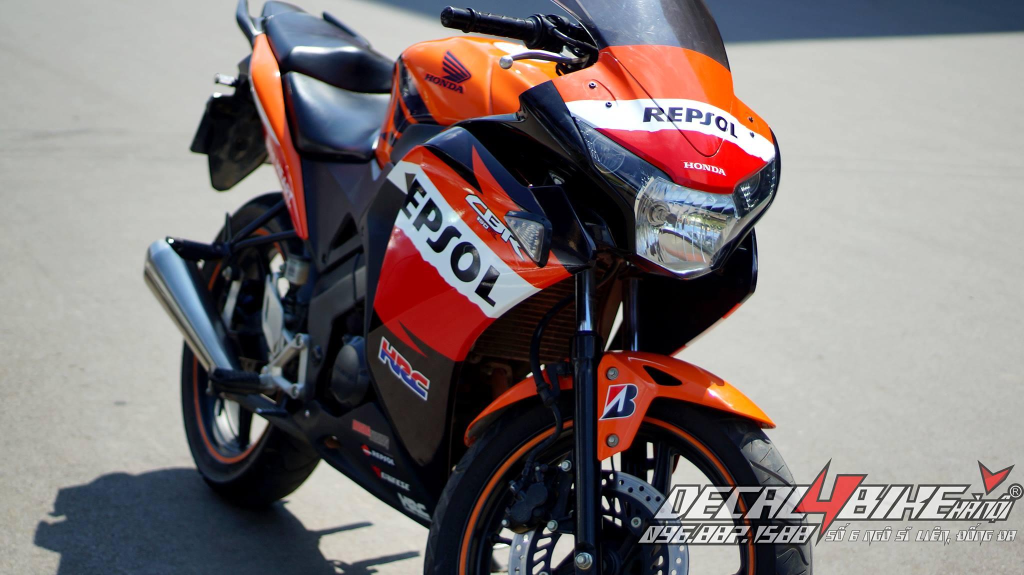 Cbr 150 Repsol Decal4bike Center 150cc Repsoledition