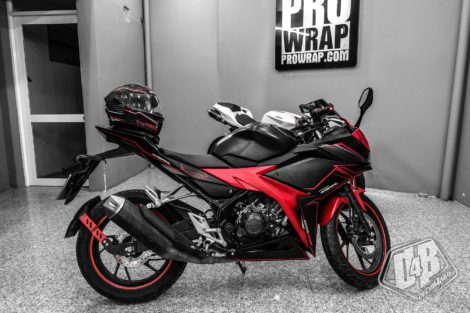 cbr400008 cbr 150 2016 red lighting 2