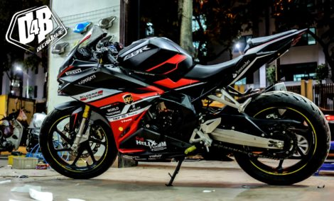 cbr500009 cbr250rr red and black