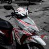 cl000026 honda click red grey