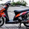 cl000027 honda click black repsol