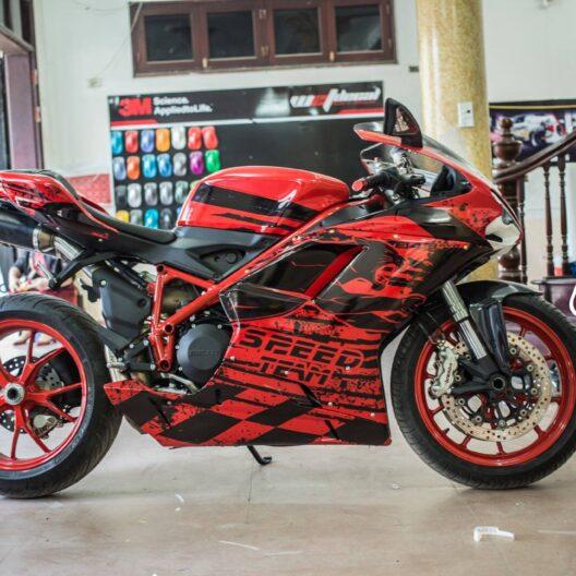 dct500070 ducati 848 red black speed team