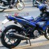 exciter 150 blue crazy horse