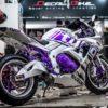 gsx100027 suzuki gsx r150 violet tyco