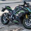 nj300100024 ninja 300 green lighting