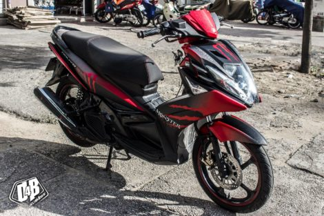 nouvo sx red monster