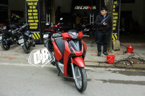 sh300067 honda sh 150i red metallic 1