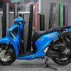 sh400042 honda sh 2017 blue hnt racing