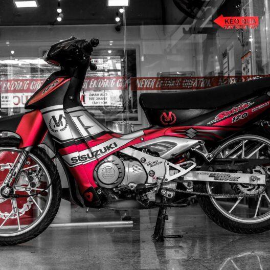 snk000004 suzuki satria red silver 1