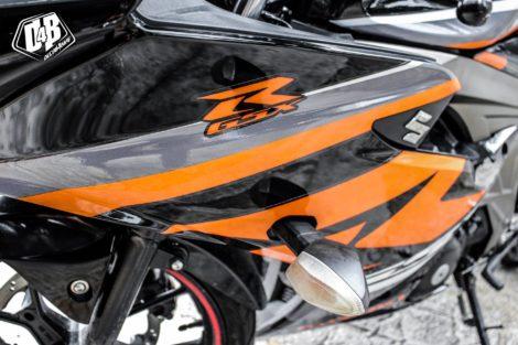 suzuki gsx r150 cam xám đen 4