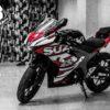 suzuki gsx r150 phối màu đỏ trắng 1