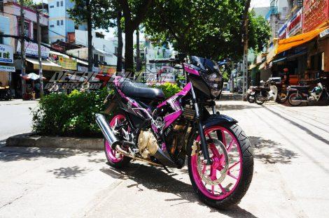 tem xe raider pink samurai 1