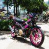 tem xe raider pink samurai