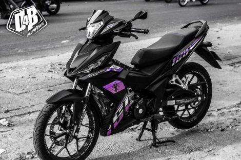 winner 150 violet black 1