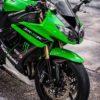 zx10r000019 kawasaki zx10r black green